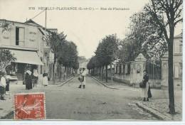 93, Seine Saint Denis,NEUILLY-PLAISANCE, Rue De Plaisance, Animations Scan Recto-Verso - Neuilly Plaisance