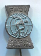 FMJD - Sports Jeunesse, Vintage Pin, Badge - Pin