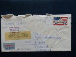 A3861   LETTRE USA - Verenigde Staten