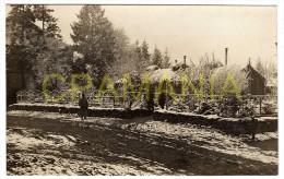 D027 - 08 - Une Carte Photo LANDRES   N°3 - Feld-Lazarett N°4 16. Armee Korps (F.L.4 XVI A.K) - France
