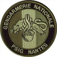 Gendarmerie - PSIG - NANTES  Bv Kaki - Police & Gendarmerie