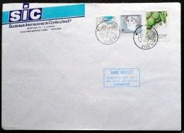 Portugal  1991 Letter To Denmark   ( Lot 3959 ) - 1910-... República