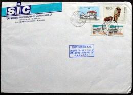 Portugal  1991 Letter To Denmark   ( Lot 3961 ) - 1910-... República