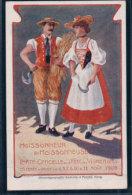 Vevey, Fête Des Vignerons 1905, Moissoneur Et Moissoneuse, Costume (5.8.05) - VD Vaud