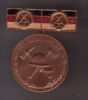 DDR , Für Treue Dienste - Feuerwehr