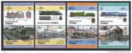 F3085- Set MNh Trains -locomotives - Leaders Of The World -1984- NUKULAELAE Tuvalu - Treinen