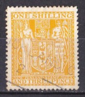 New Zealand 1931 Postal Fiscal 1s 3d Yellow Used - Postal Fiscal Stamps