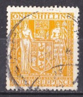 New Zealand 1931 Postal Fiscal 1s 3d Yellow Used - - Postal Fiscal Stamps