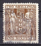 New Zealand 1931 Postal Fiscal 2s 6d Brown Used -  - - Postal Fiscal Stamps