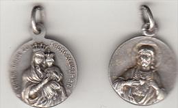 Medaille Religieuse Pendentif Notre Dame Du Sacré Coeur - Other