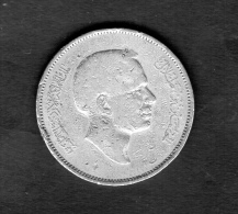 JORDAN 1 DIRHAM - 100 FILS 1968 HUSAYN  COPPER - NICKEL   COIN - Jordanie