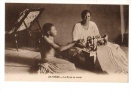 C P A-C P S M-------ZAMBEZE---------- --la Reine Au Travail-------voir 2 Scans - Sambia