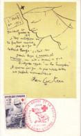 COCTEAU  Jean   -  CROIX  ROUGE  -  CPSM  9x14  TBE  Affranchissement Philatélique 1966 - Cocteau