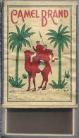 NL.- Luciferdoosje. Camel Brand Lucifers. Palmbomen. Kameel. Boite D'allumettes, Matchbox, Lucifer, 2 Scans - Boites D'allumettes