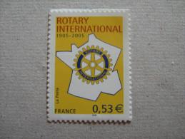 FRANCE 2005    No YT  52  * *   CENTENAIRE DU ROTARY CLUB - Adhésifs (autocollants)