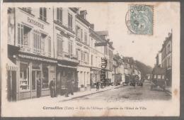 27--CORMEILLES---Rue De L'Abbaye-quartier De L'hotel De Ville--commerçes--animé - Frankreich