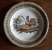 Petrus Regout HAAN - Oud Hanenbord - Old Rooster Plate -  Assiette Au Coq - Alte Hahn Teller - Se418 - Maastricht (NLD)