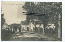 CPA - Condé Folie - Route D'Hangest - France