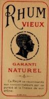 Etiquette Rhum Ancienne - Imprimeur Jouneau - Rhum