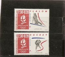 France 1991 Neuf N° 2676 & 2677    Slalom & Hockey - Francia