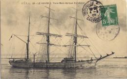 Le Havre- 3 Mats-barque Norvégien - Voiliers