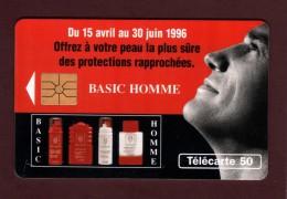 Télécarte De 50.unités - BASIC HOMME De VICHY - 2 Scannes. - 50 Unités