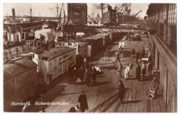 Hamburg, Kuhwärderhafen, Verlag C. Worzedialeck Nr 53 - Stellingen