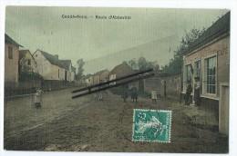 CPA- Condé Folie - Route D'Abbeville - France