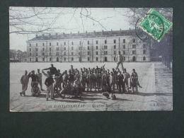 Ref3345 WA Carte Photo De Fontainebleau - Quartier Damesme - N°50 - GBNG 1907 - Militaria - Fontainebleau