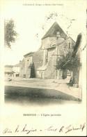 87-319 - HAUTE VIENNE - BESSINES - L' Eglise Paroissiale  -  Dos Non Divisé - Bessines Sur Gartempe