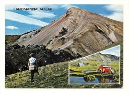 Cp, Islande, Landmannalaugar, Multi-Vues - Islande