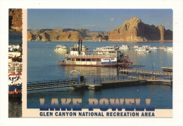 Cp, Etats-Unis, Lake Powelle, Wahweap Marina, Glen Canyon National Recreation Area - Lake Powell