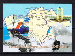 KAZ-    05    KAZAKHSTAN – 2004, 100TH RAILWAY