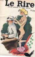 REVUE LE RIRE N° 24 BERNARD ALDEBERT EDITION CORPS MEDICAL - Desde 1950