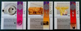 HANNUKA - FETE DES LUMIERES 1993 - NEUFS ** - YT 1227/29 - Israel