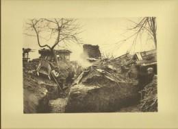 Tranchée De 1° Ligne Dans MAUCOURT (80) Somme 1914 (Tournassoud) - Guerra 1914-18