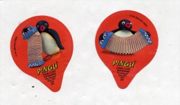 opercule  de creme pingouin accordeon