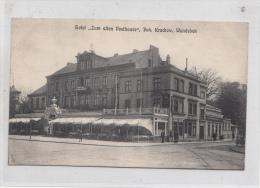 B82101 Hotel Zum Alten Posthausekrakow Wandsbeck Hamburg Germany Front Back Image - Wandsbek