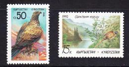 KGZ-    04    KYRGYSZTAN – 1992 BIRDS