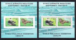 KGZ-    05    KYRGYSZTAN – 1999 WORLD PHILATELIC EXHIBITION CHINA 99