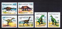 KGZ-    08    KYRGYSZTAN – 1998 DINOSAURS