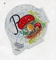 opercule  de creme theme champignon