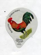 opercule  de creme theme coq poule