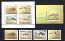 KGZ-    14    KYRGYSZTAN – 1994 FISHES