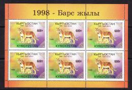 KGZ-    20    KYRGYSZTAN – 1998 YEAR OF TIGER