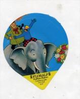 opercule  de creme theme elephant