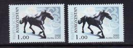 KGZ-    27    KYRGYSZTAN – 2002 HORSE. STARTING PRICE FOR THE ONE SET