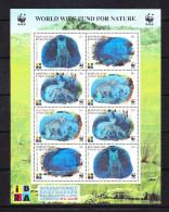 KGZ-    34    KYRGYSZTAN – 1999 ANIMALS HOLOGRAMM