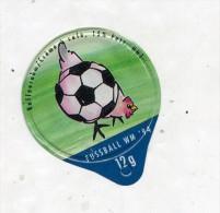 opercule  de creme theme coupe monde football  coq