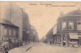 Bressoux  Rue Vivihouet  Circulé En 1930,magasin Vve Jean Giard,coiffeur, - Liege